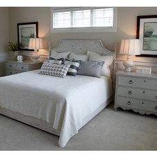 Transitional Bedroom by Dwellings
