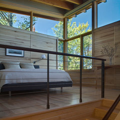 modern bedroom by FINNE Architects