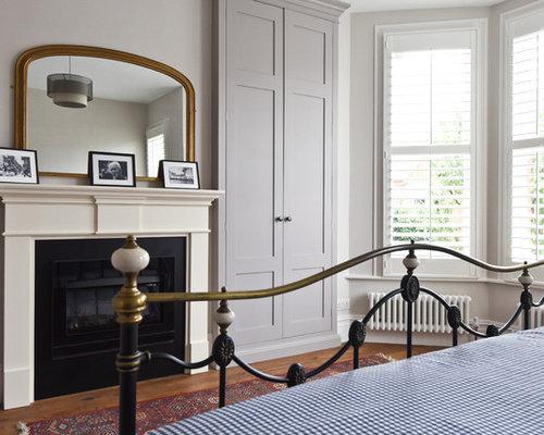 Alcove wardrobe home design ideas renovations photos for Chambre avec alcove