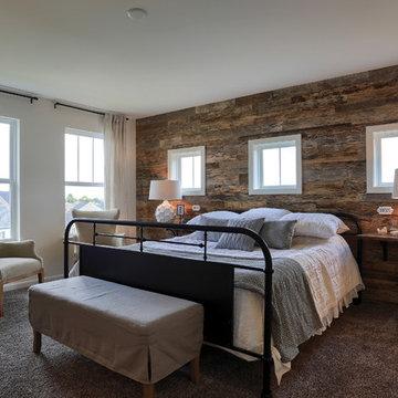 Earthy Master Bedroom