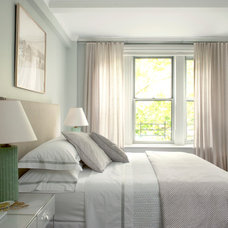 Transitional Bedroom by Katie Lydon Interiors
