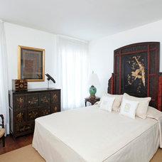 Asian Bedroom by Marcia Butler Interior Design Inc