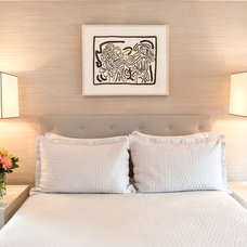 Transitional Bedroom by J. PATRYCE DESIGN