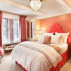 Transitional Bedroom by Jennifer Flanders Inc.