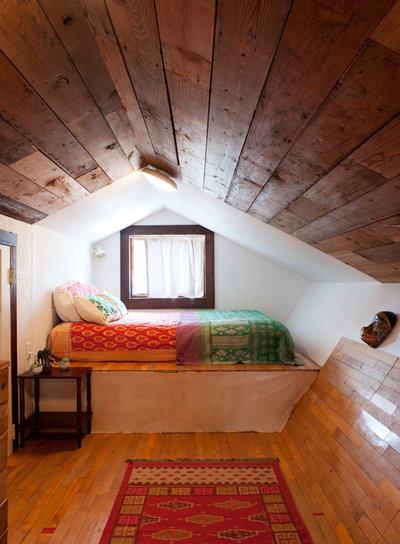 Eclectic Bedroom by Studio 512