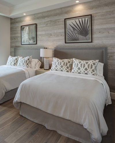 Beach Style Bedroom by W Design Interiors