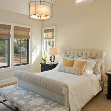 Transitional Bedroom by J Visser Design