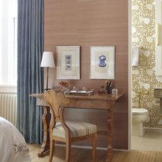 Eclectic Bedroom by Jessica Lagrange Interiors