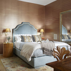 traditional bedroom by Jessica Lagrange