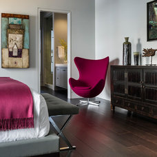 Contemporary Bedroom by Kaufman Segal Design