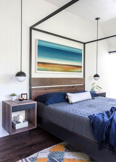 Modern Bedroom by Kerry Ellis Design