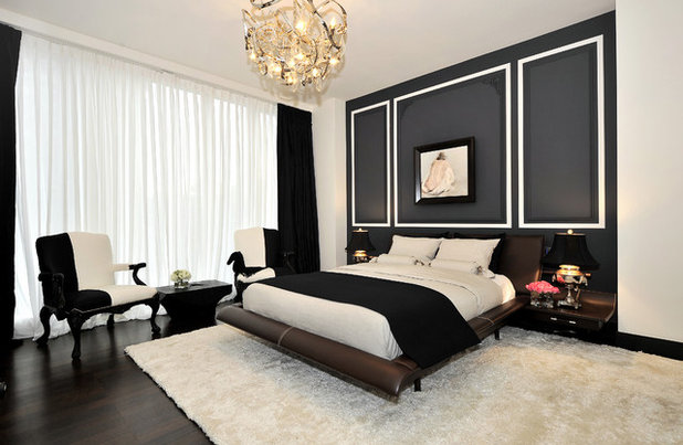 Contemporary Bedroom by Legacy Construction Northeast LLC