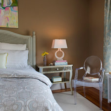 Eclectic Bedroom by Digs Design Company
