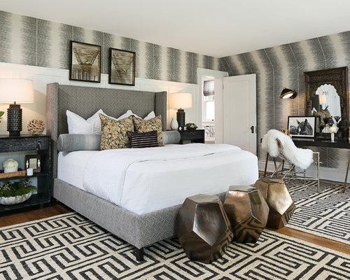 Bedroom Wallpaper Design Ideas master bedroom wallpaper ideas | houzz