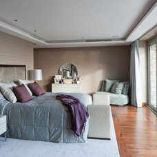 Contemporary Bedroom by Tillman Domotics