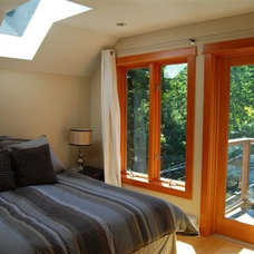 Eclectic Bedroom by Portal Design Inc