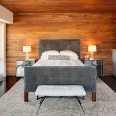 Contemporary Bedroom by Adrian Wilson interior photography, NY