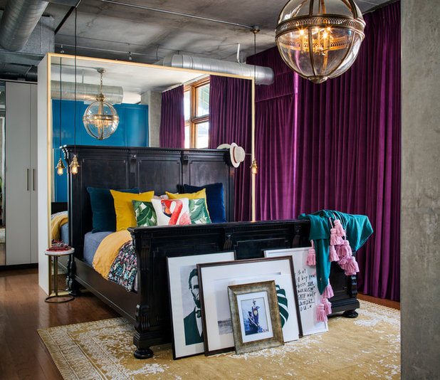 Eclectic Bedroom by CM Natural Designs