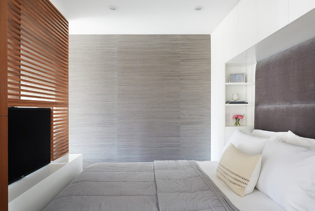 Contemporary Bedroom by Etelamaki Architecture