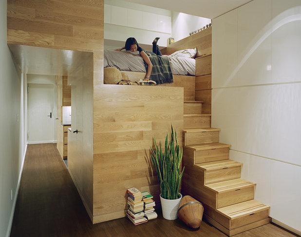 コンテンポラリー 寝室 by Jordan Parnass Digital Architecture