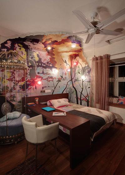 Modern Bedroom by Eso Torra Indesigns  Pte. Ltd.