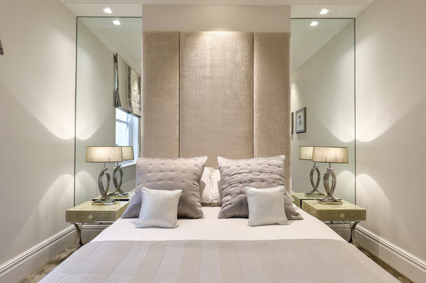 Transitional Bedroom by Penman Interiors