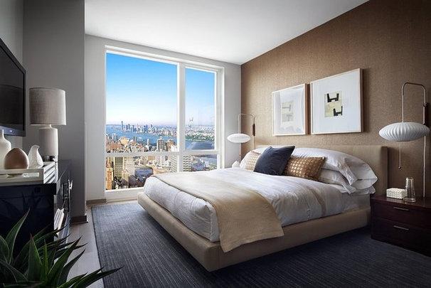 Eclectic Bedroom by Terrat Elms Interior Design