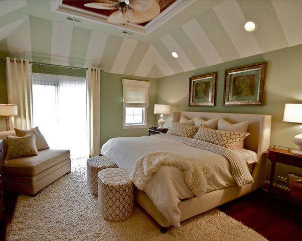 Transitional Bedroom Eclectic Bedroom