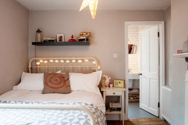 Фьюжн Спальня Eclectic Bedroom