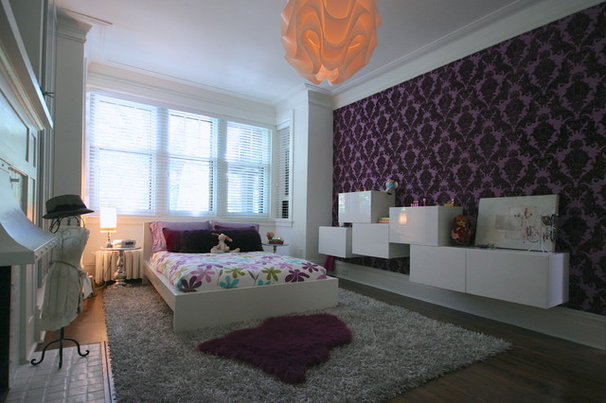 Eclectic Bedroom by catlin stothers design