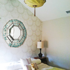 Eclectic Bedroom by Courtney Blanton Interiors