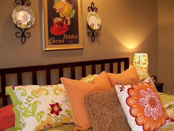 Eclectic Bedroom by Debbiedoo's