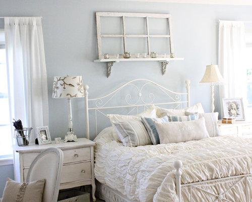 Camera da letto shabby-chic style Chicago - Foto e Idee per Arredare