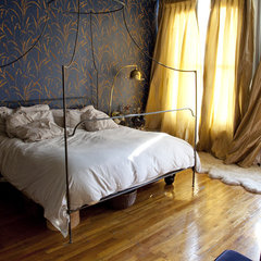eclectic bedroom by Lexi Tallisman