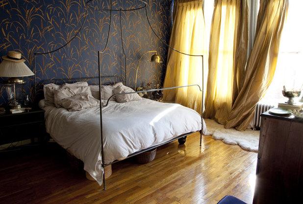 Eclectic Bedroom Eclectic Bedroom. Italian Campaign Beds Show Winning Design