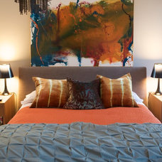 Contemporary Bedroom Eclectic Bedroom