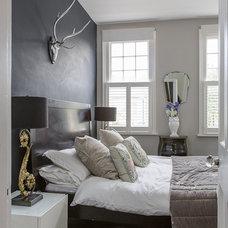 Contemporary Bedroom by Honey Bee Interiors