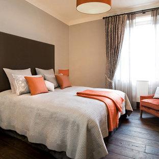 Orange And Grey Bedroom | KevinRamey.com