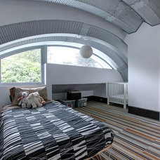 Eclectic Bedroom by doon Architecture of the Hamptons PC
