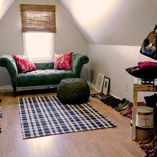 Eclectic Bedroom by Birdhouse Interior Design