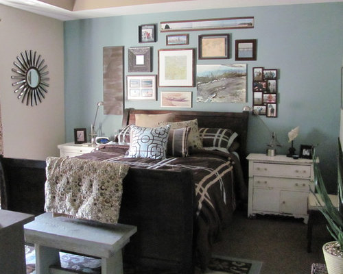 Atmospheric by benjamin moore home design ideas pictures for Eclectic bedroom sets