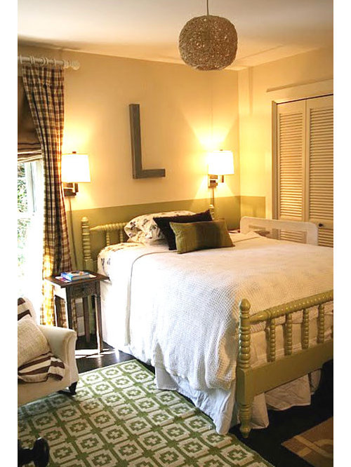 example of an eclectic bedroom design in atlanta - Jenny Lind Bed