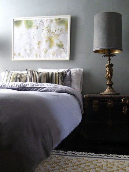 eclectic bedroom by Kevin Derrick