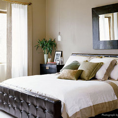 eclectic bedroom by Laura Britt Design