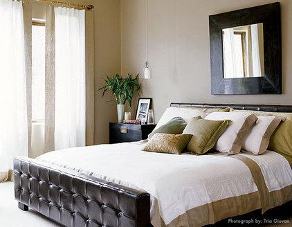 Eclectic Bedroom by Laura Britt Design