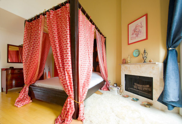 Eclectic Bedroom by Incite Photography