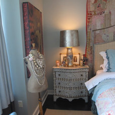 Eclectic Bedroom by Kari McIntosh Design