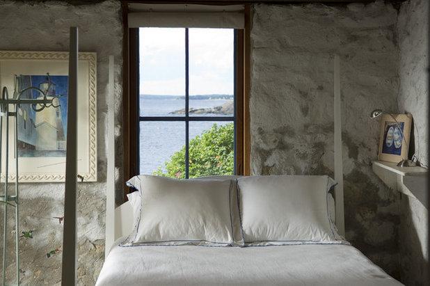 Рустика Спальня Eclectic Bedroom