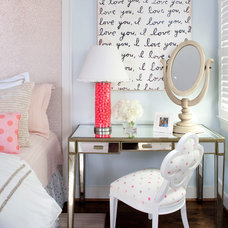 eclectic bedroom by Kristin Peake Interiors, LLC