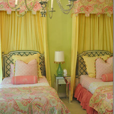 Eclectic Bedroom by L. Pearson Designs